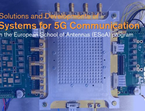 Gapwaves and University of Twente will be co-organizing the ESoA school in Chalmers