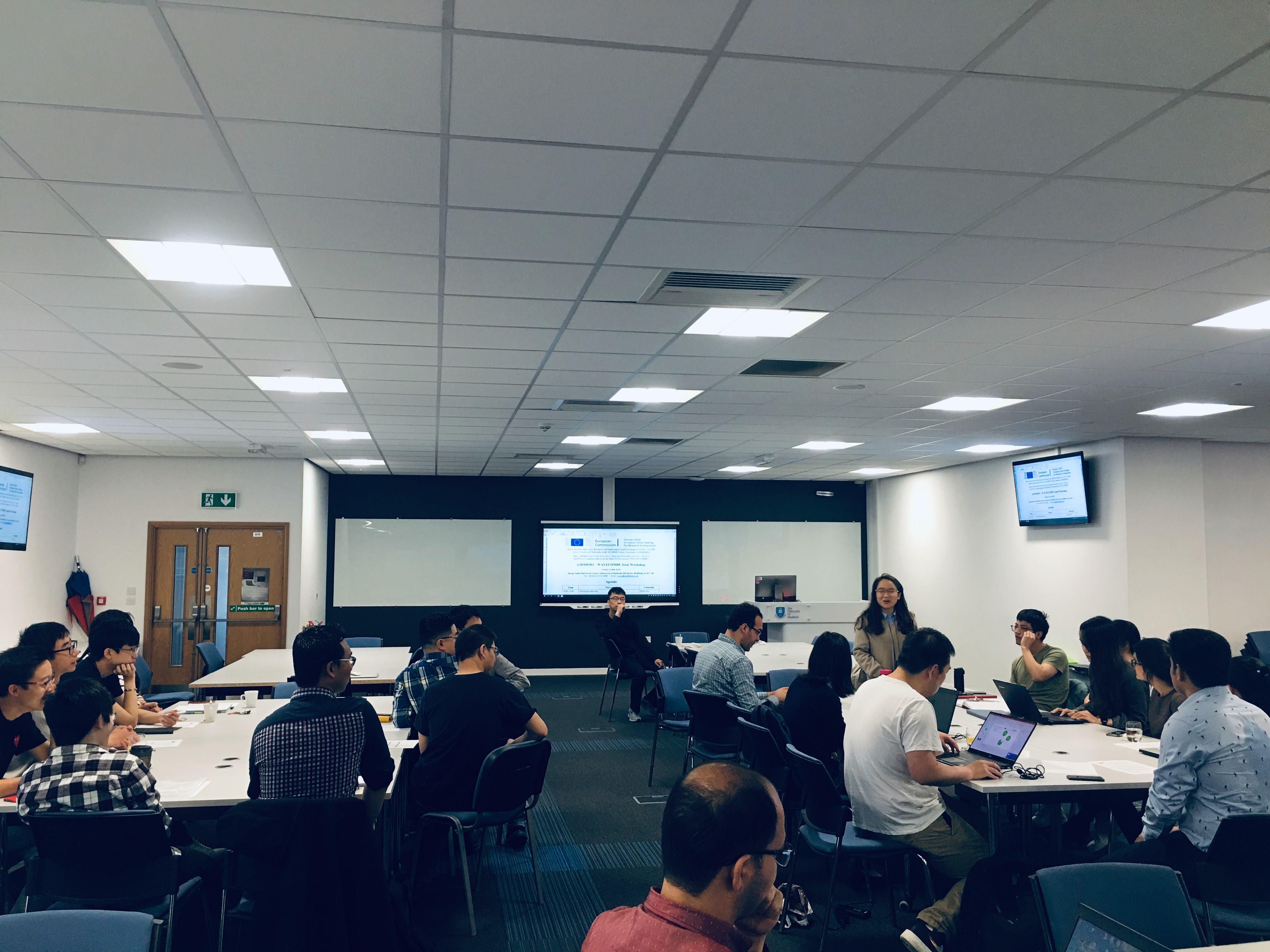 is3DMIMO - WaveComBE Joint Workshop in Sheffield! - WaveComBE