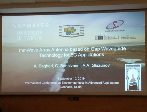 A WavecomBEr participates in the International Conference on Electromagnetism in ICEEA 2019.