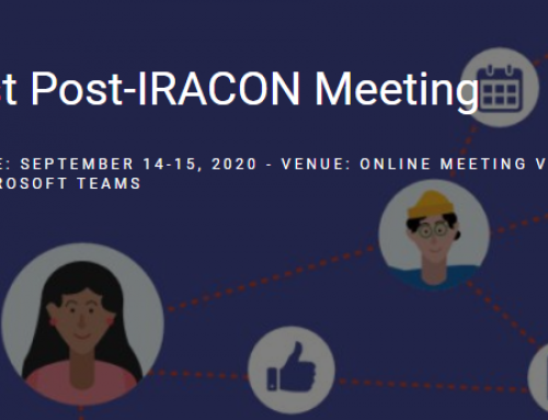 WaveComBE members participation in the 1st Post-IRACON meeting