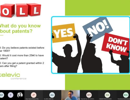 WaveComBE online seminar on IPR and Patents