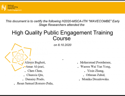 USFD Online Training Seminar on Public Engagement (2nd Part)